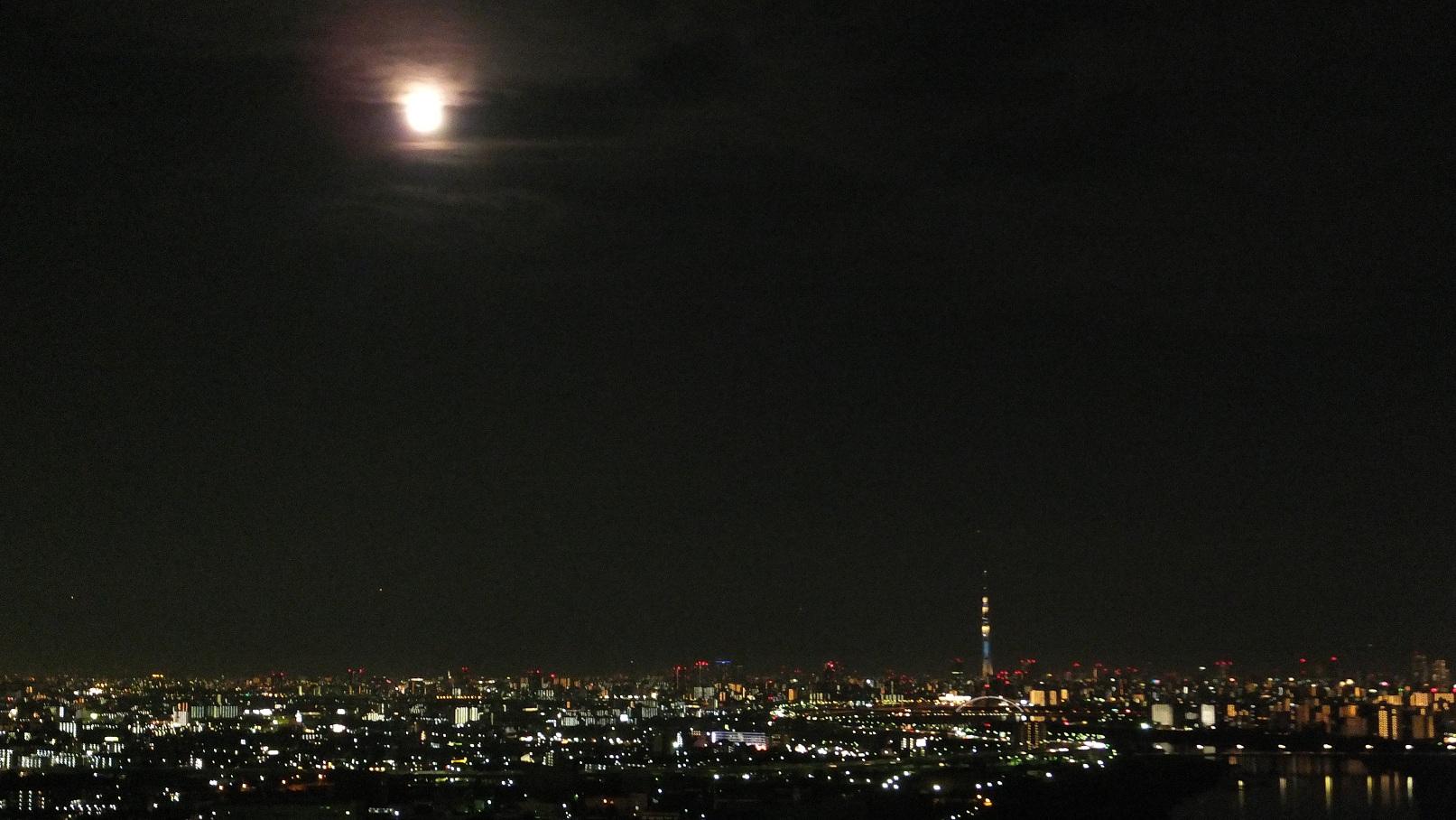 ワイド写真 東京スカイツリー夜景 Skytree Night View 写真の旅 世界